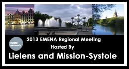 RDV à Brussels à l'occasion de l'EMENA Regional Meeting 2013