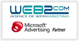WEB 2 COM Partner Miscrosoft Advertising